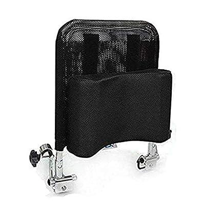 Cojín de respaldo para reposacabezas de silla de ruedas, acolchado ajustable para adultos, portátil
