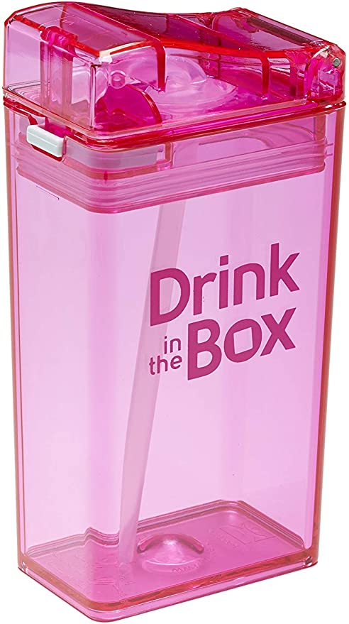 Drink in the Box Sippy Cups Pink
