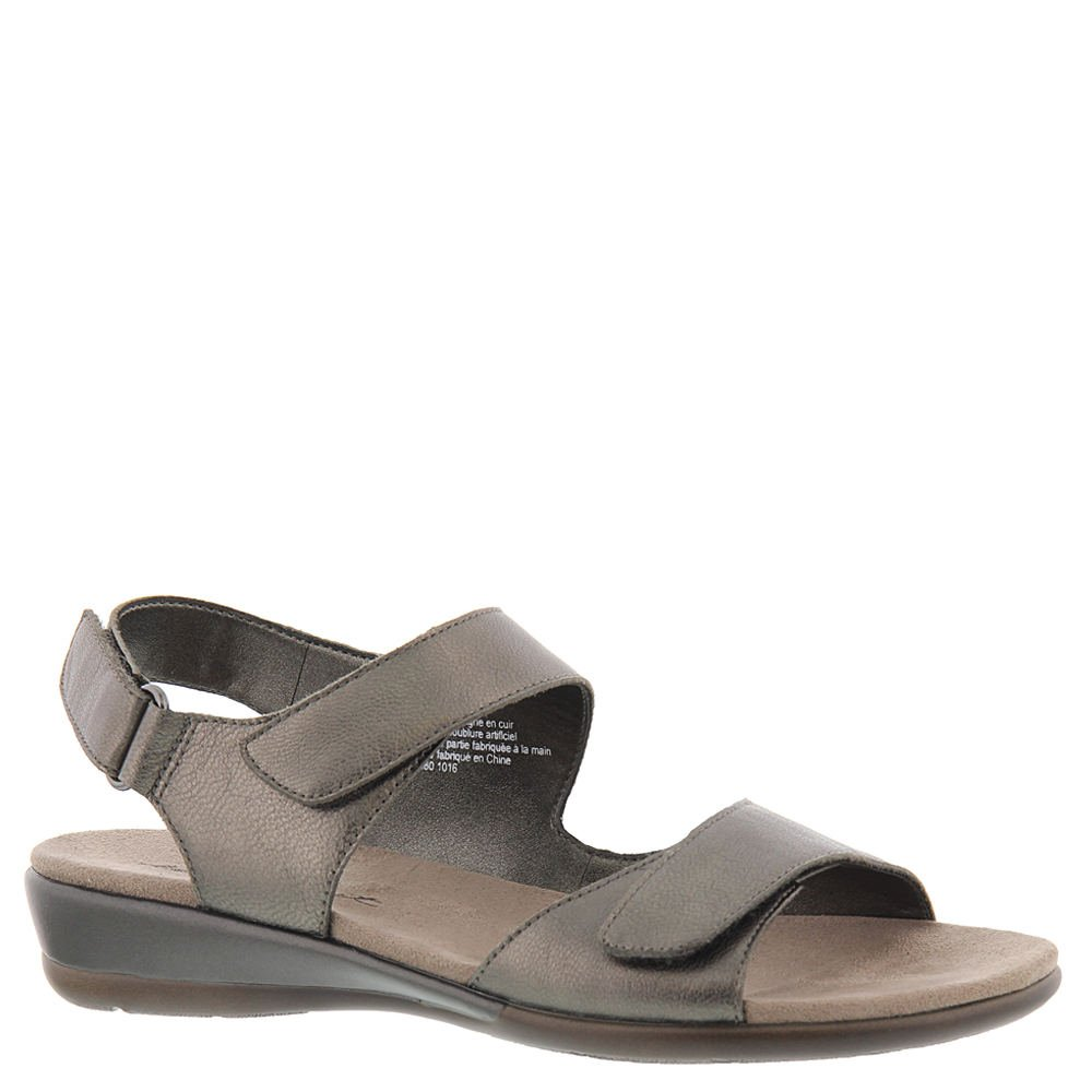 Easy Spirit Womens Hartwell Open Toe Casual Ankle Strap Sandals B01N18K3QD 5.5 B(M) US|Pewter