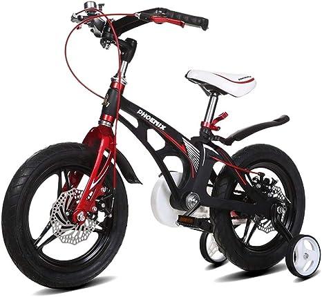 TSDS Bicicleta Infantil Bicicleta de montaña Bicicleta Exterior Bicicleta roja/Blanca/Rosa: Amazon.es: Deportes y aire libre