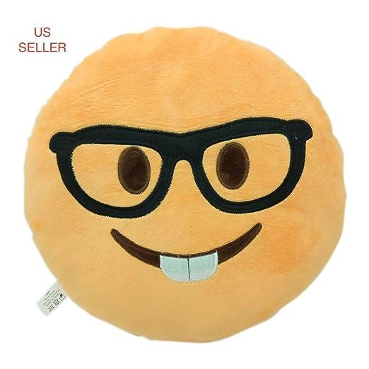 Pig Piggy almohada Emoji Smiley Emoticon amarillo Ronda ...