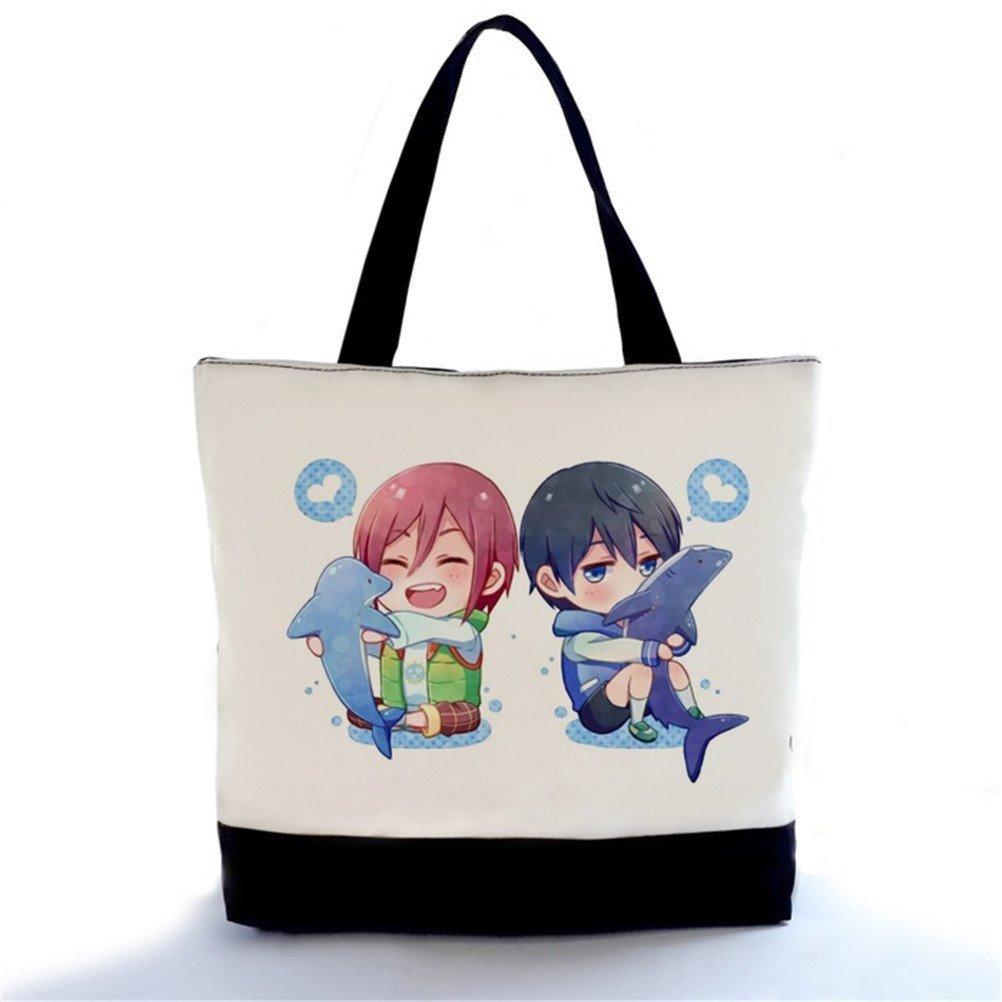 YOYOSHome Anime Free! Eternal Summer Cosplay Handbag Backpack Shoulder Bag
