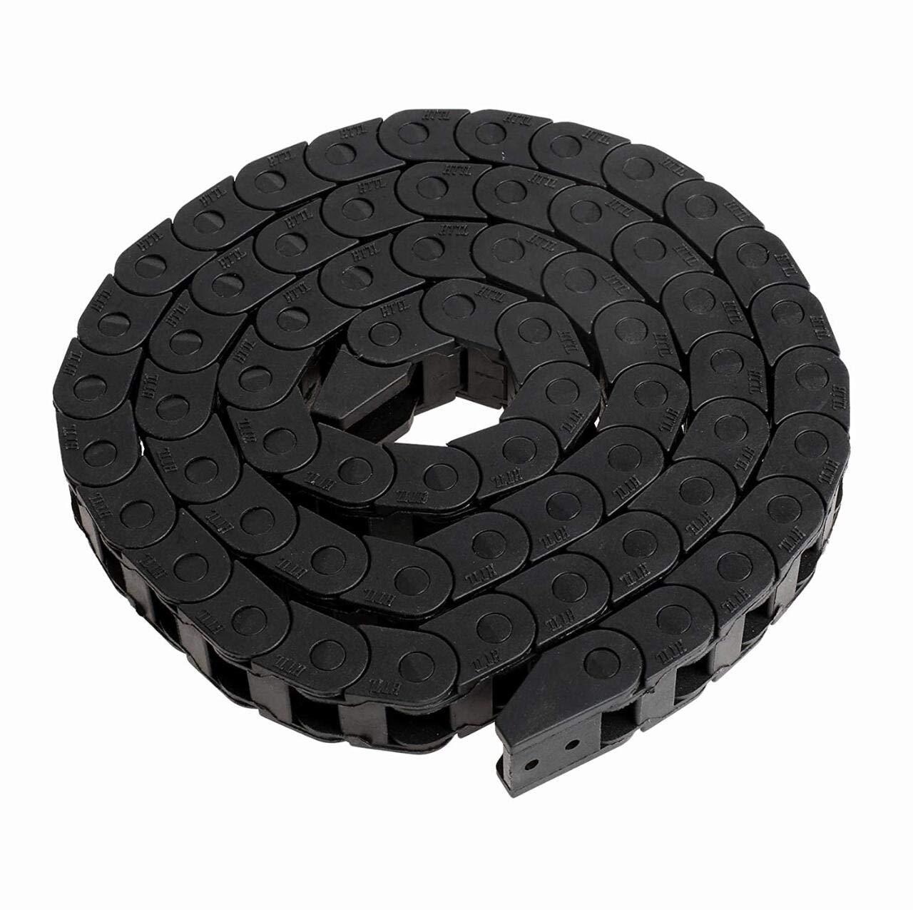 1M Hochwertige Energiekette Schleppkette Kunststoff Towline Kabel Tr/äger Schleppkette f/ür 3D Drucker CNC 10 X 10mm