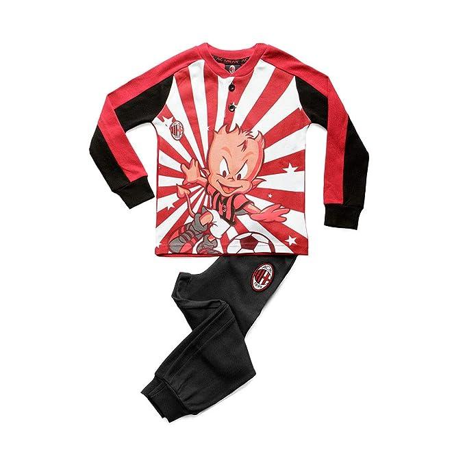 design elegante super speciali a disposizione pigiama bambino lungo in caldo cotone MILAN prodotto ufficiale art. MI16048