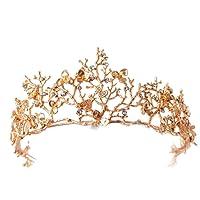 Vintage Wedding Bridal Hair Accessories Bridesmaid Gold Dragonfly Women Girls Tiara Crown Headbands