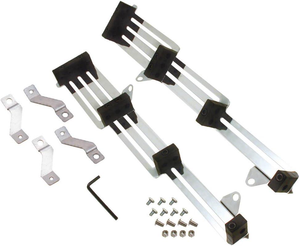 Black Plastic Moroso Spark Plug Wire Holder 72153; 9mm Valve Cover Mount Chrome
