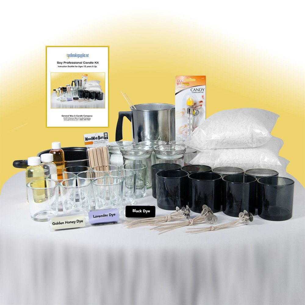 Generalwax.com - Soy Professional Candle Making Kit