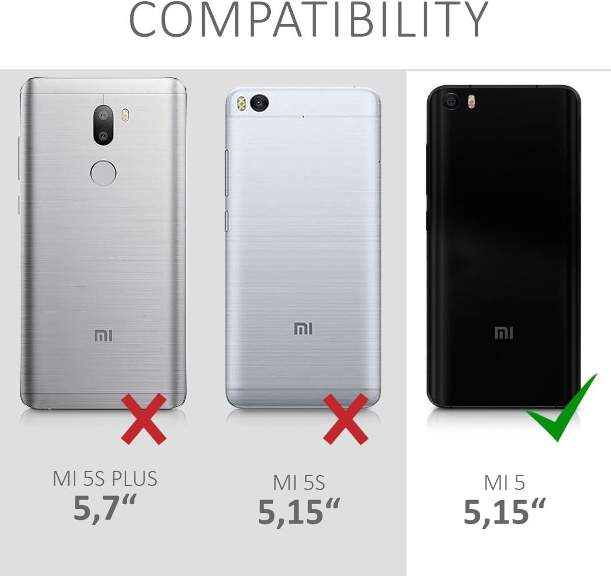 kwmobile Funda para Xiaomi MI5: Amazon.es: Electrónica