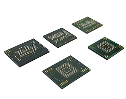 Amazon com: 5 X Blank eMMC Chips Set for Testing Chip Off