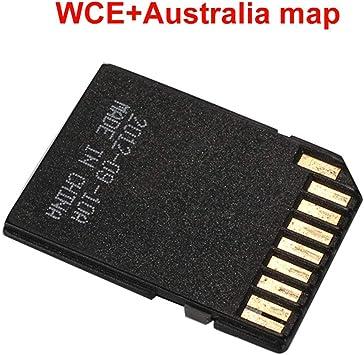 Haihuic Australia Mapa de navegación GPS Sistema Android Tarjeta de Memoria de 16GB para el Reproductor de DVD estéreo para el automóvil en el Tablero Navegador GPS: Amazon.es: Electrónica
