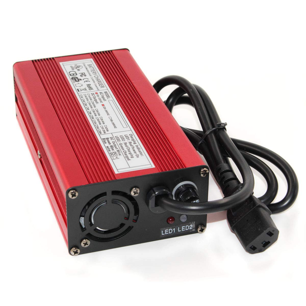 Accessories & Parts Lovely 12v 5a Lead Acid Battery Smart Charger 12v 5a Charger Fully Automatic With Fan Battery Pack Charger Input 100vac-240vac