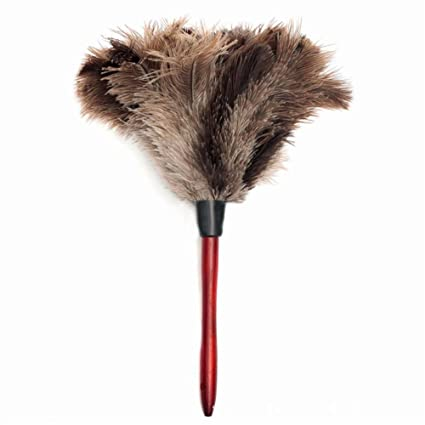Sky Fish Ostrich Cleaning Feather Duster Ostrich Duster Ostrich Feather  Duster Soft Feathers Duster From Furniture
