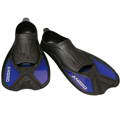 ANGGO Short Dive Fins for Swimming