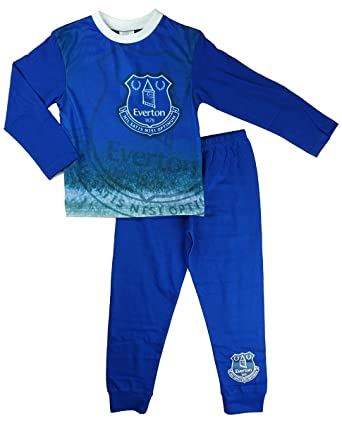 38c717c2 Boys Official Everton FC Football Club The Blues Long Pyjamas Sizes from 4  to 12 Years: Amazon.co.uk: Clothing