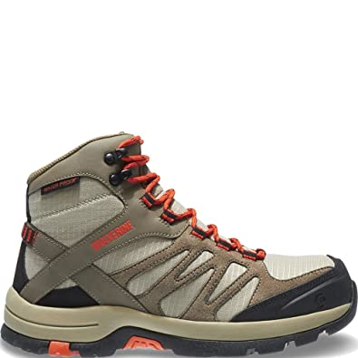 7122c13424 Amazon.com  Wolverine Women s Fletcher Mid Work Boot  Shoes