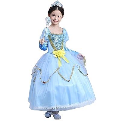 Das beste Prinzessin Kleid Kostüm Cosplay Partei Mädchen Abendkleid ...