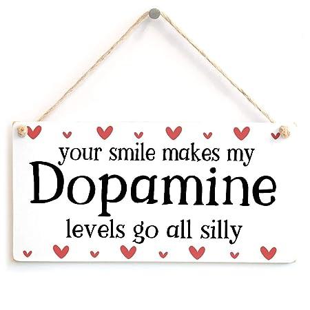 Wild boy Smile Makes My Dopamine Cartel de Madera Arte ...