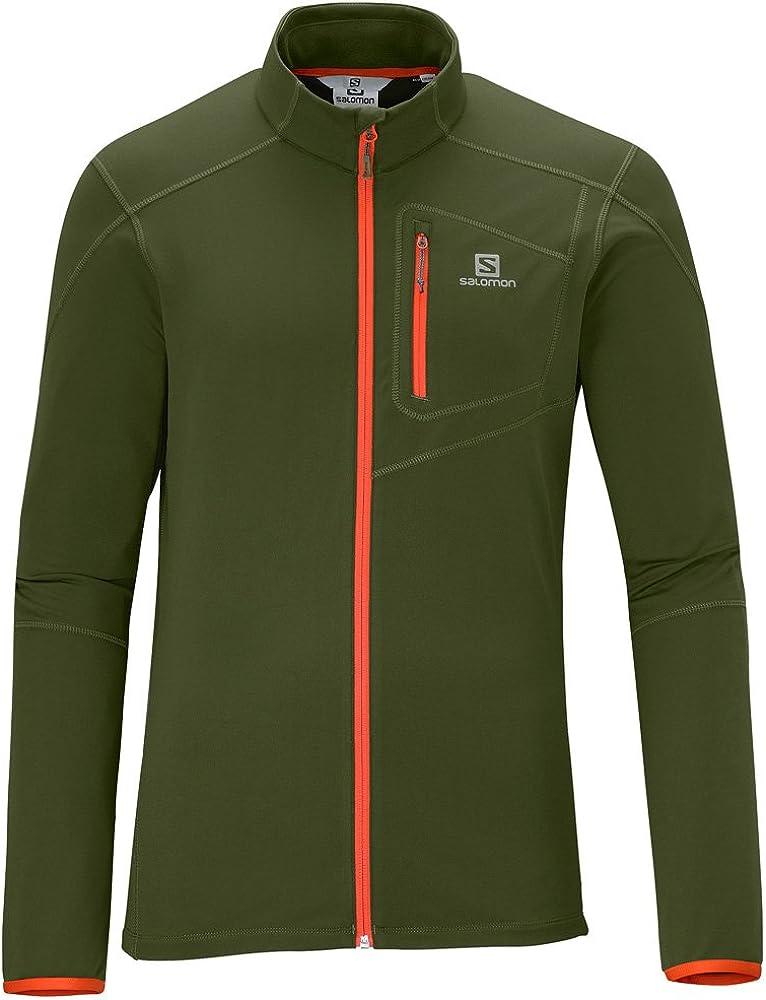 SALOMON Discovery - Camiseta/Camisa Deportivas para Hombre, Color Verde, Talla M: Amazon.es: Deportes y aire libre