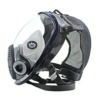Ligero máscara facial de cara completa Máscara antigás Respirador de polvo ácido Pintura de plaguicida Filtro