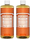 Dr. Bronner's Organic Pure Castile Liquid Soap, Tea Tree Oil, 32 oz, 2 pk For Sale