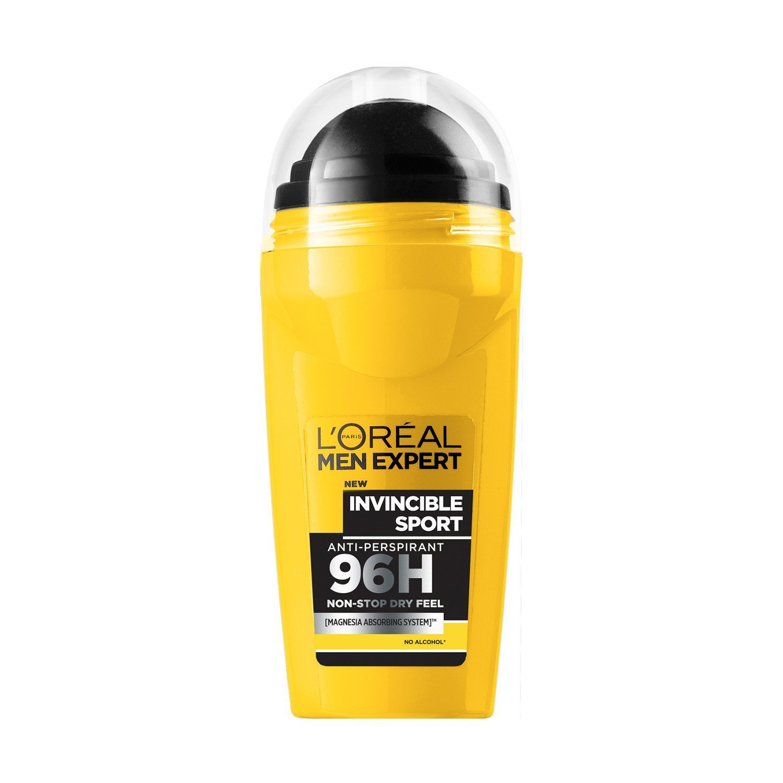 2 x l oreal men expert XXL antitranspirante Roll On Invencible deporte 96H 50 ml: Amazon.es: Salud y cuidado personal