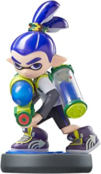Amiibo Inkling Boy Splatoon Series by Nintendo: Amazon.es ...