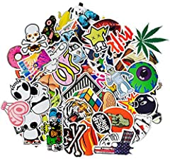 Korlon Unrepeatedly Cute Car Stickers Decals Bumper Stickers, 100 PiecesAbout the product - Size: 6-12cm, material: PVC. - Fashional bumper stickers, random pieces PVC stickers, totally worth. - 100% brand new with sun protection and waterpro...