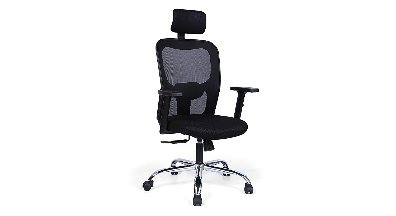 Urban Ladder Edmund Study Chair (Colour : Black): Amazon.in: Home