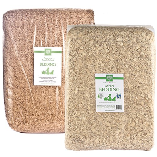 Small Pet Select Paper and Aspen Bedding Combo, 356 L