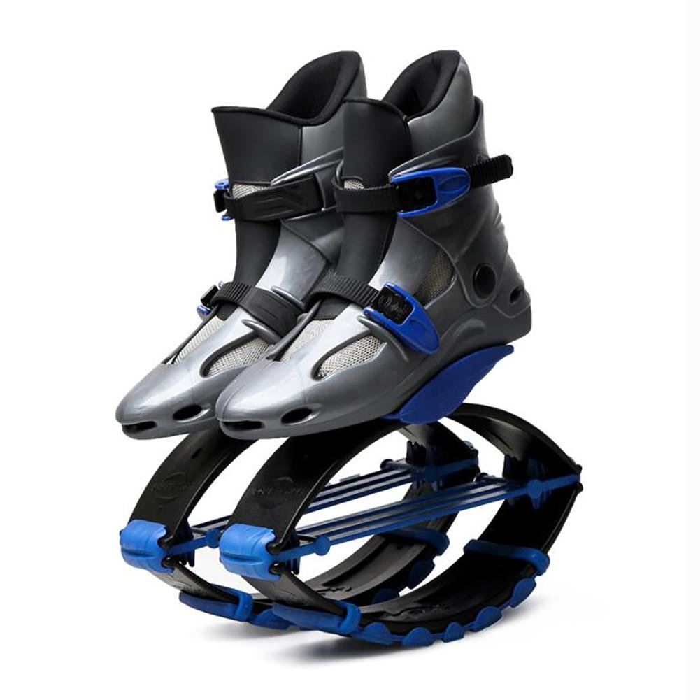 MIAO Springt Rebound Schuhe - Outdoor Adult Fitness Erhöhte Raum Prellen Schuhe