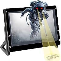 """för Raspberry Pi 7""""pekskärmsmodul, 7 tums IPS-skärm bärbar pekskärmsdator 1024X600 HDMI-spelmonitor för Pi 4/3/2 / Zero…"""