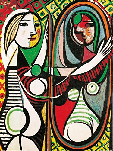 Girl Before a Mirror, c.1932 Art Print Art Poster Print by Pablo Picasso, 24x32