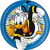 Donald Duck Party - Donald Mania Party Paper Dinner Plates x 8 by Donald Duck