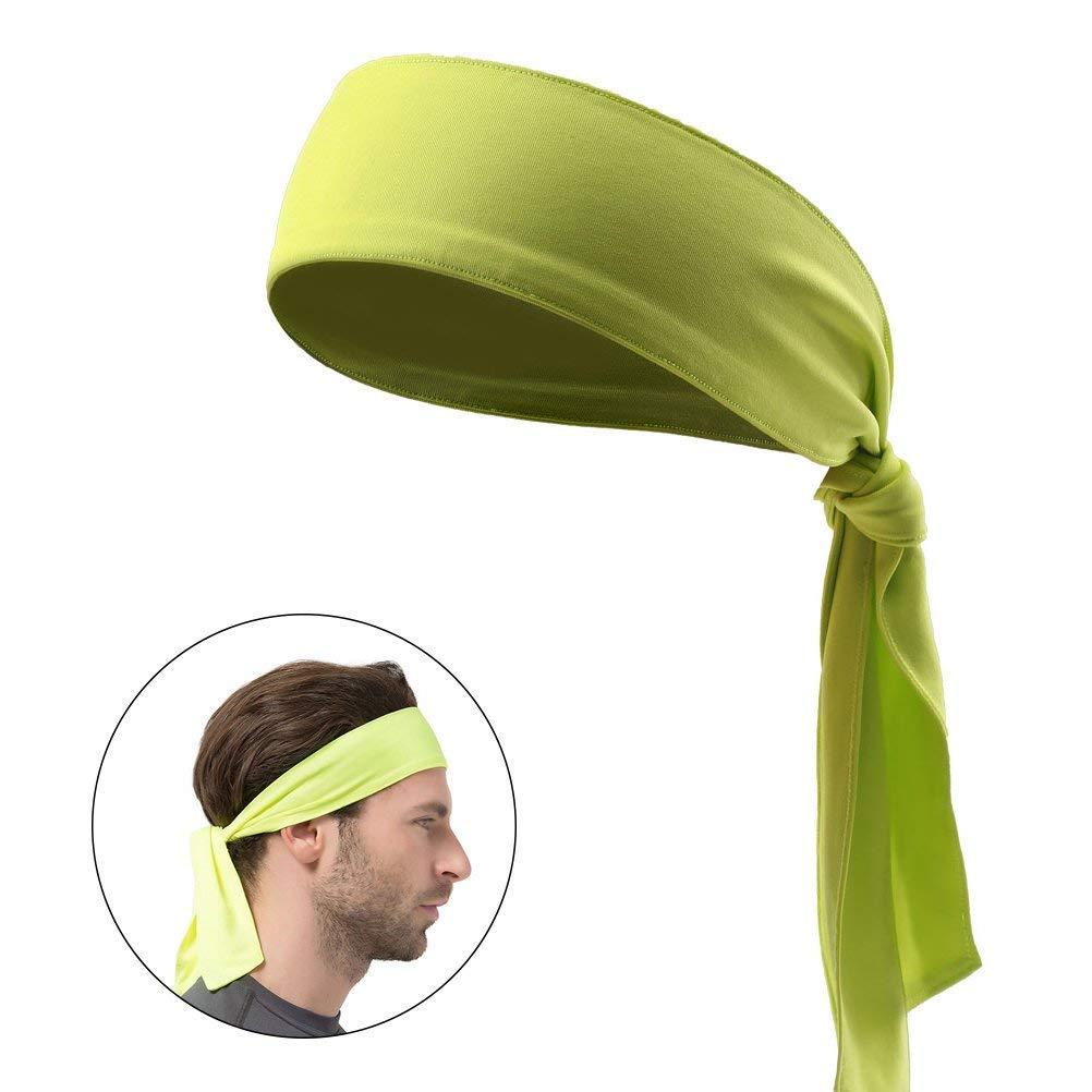 8faa48fc2532d Y8HM Quickly Dry Moisture Wicking Sweat Head Tie Headband Women Men ...