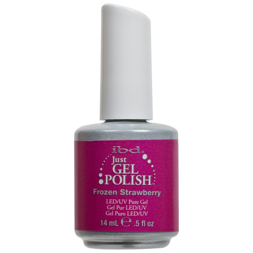 Amazon.com : IBD Just Gel FROZEN STRAWBERRY Soak Off Pink Nail ...