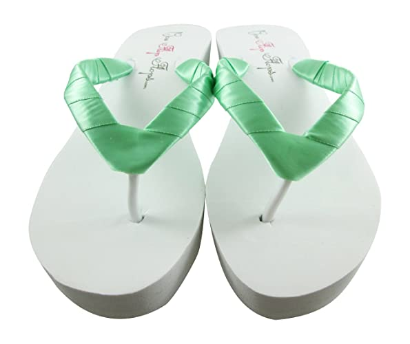 Amazon.com: Mint Green or your wedding color - Bridal Wedding Shoes ...