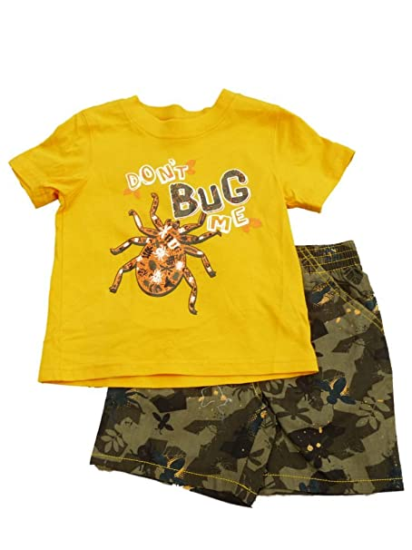 969c05658 Amazon.com  Toughskins Infant Boys Don t Bug Me Orange T-Shirt ...