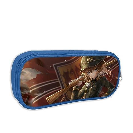 Amazon.com : Unisex Teen Large Capacity Zipper Pen Bag ...