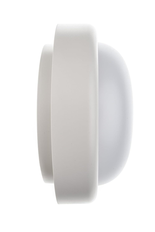 HUBER LED Wand und Deckenleuchte weiß, rund, 18 W, 1400 Lumen, sehr ...