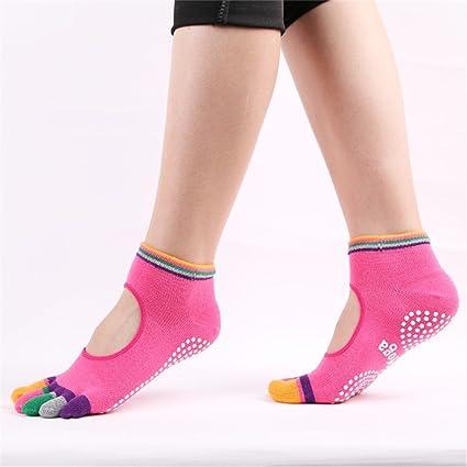 Calcetines de yoga para mujer Calcetines de yoga Calcetines ...