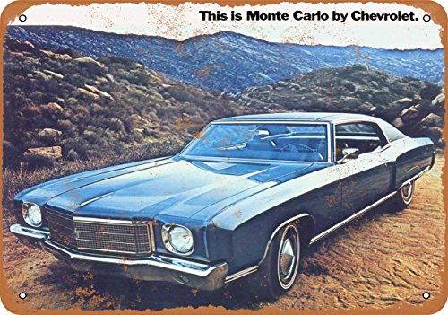TAL SIGN - 1970 Chevrolet Monte Carlo - Vintage Look Reproduction ()