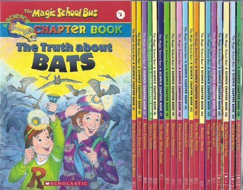 Magic School Bus Collection - The Magic School Bus Chapter Book (20 Book Set)