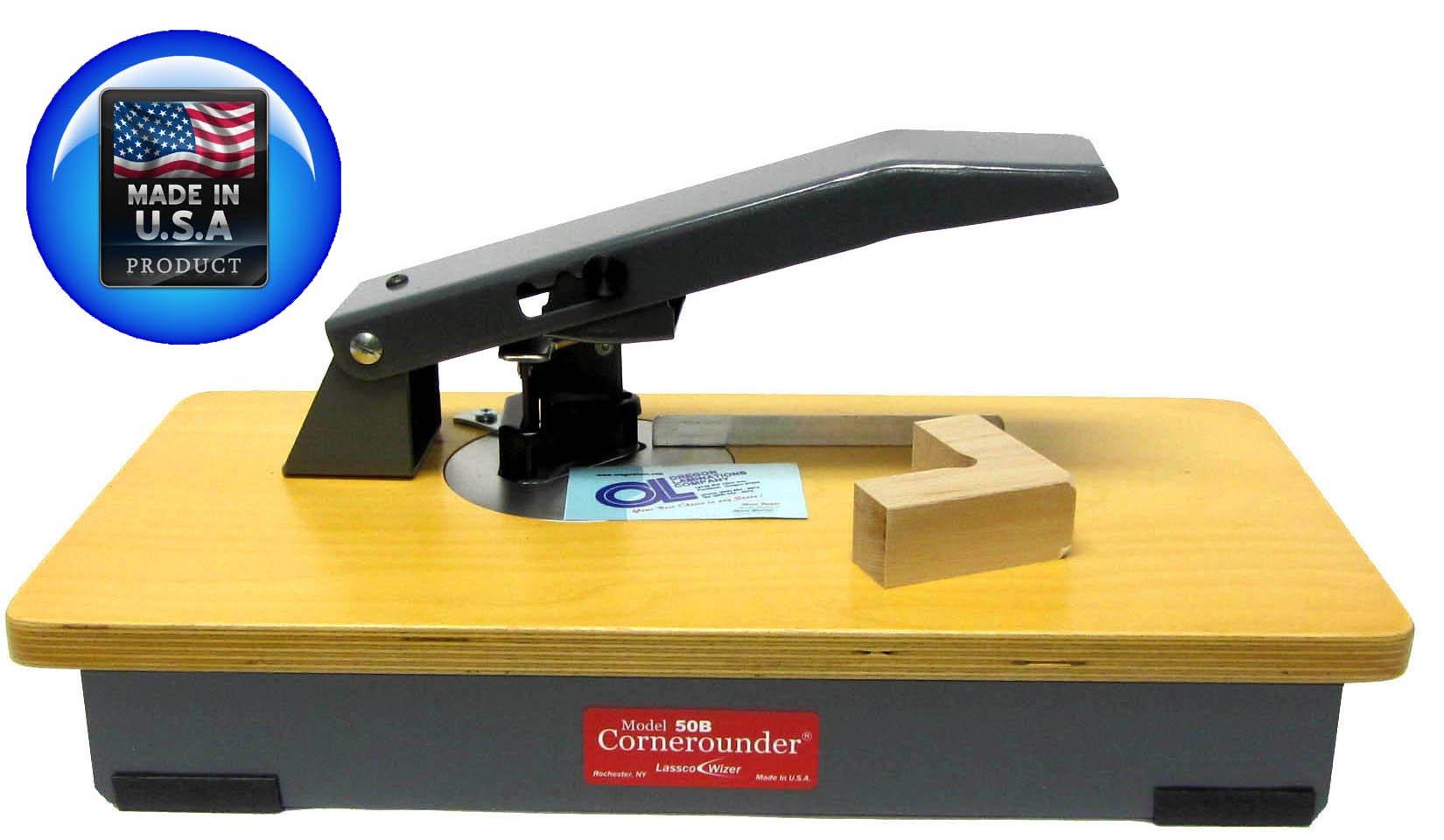 Lassco CR-50B Corner Rounder - Corner Cutter w/ 1/4'' Cutting Die