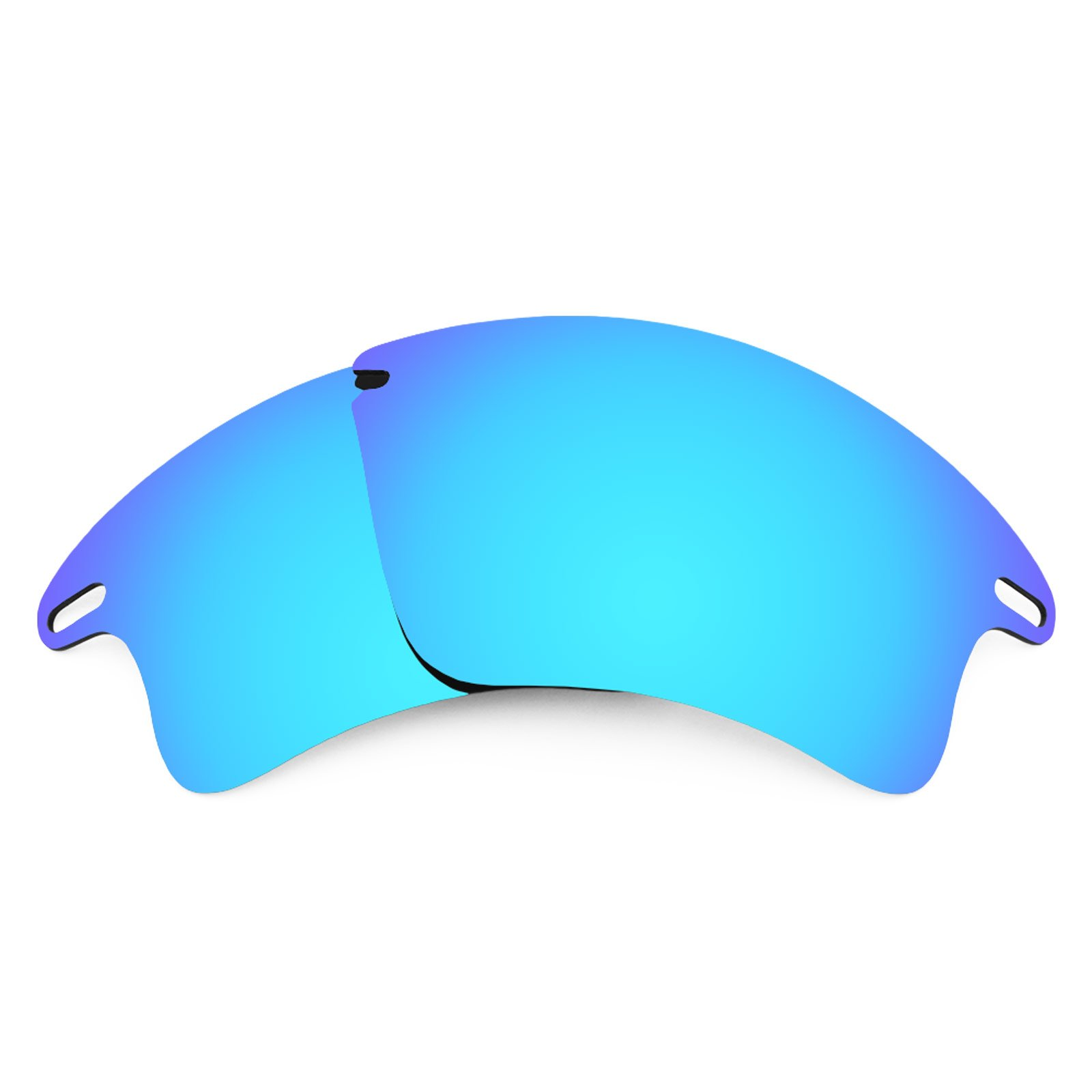 Revant Polarized Replacement Lenses for Oakley Fast Jacket XL Ice Blue MirrorShield by Revant