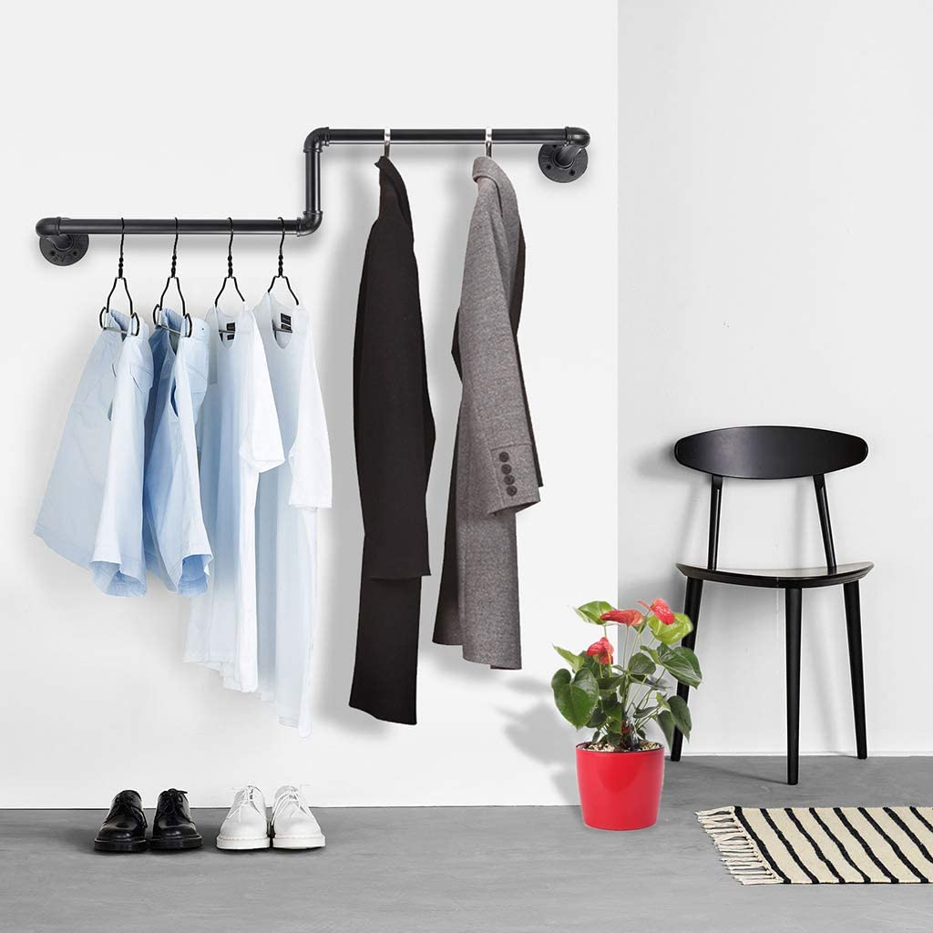 Perchero de pared para colgar ropa industrial SUMNACON