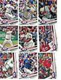 Texas Rangers / Complete 2017 Topps Series 1 & 2 Baseball Team Set. FREE 2016 TOPPS RANGERS TEAM SET WITH PURCHASE!