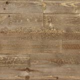interior wood paneling Timberwall - Skid Collection Wooden Pallet - DIY Solid Wood Wall Panel - Nails and Staple Application - 9.5 Sq Ft