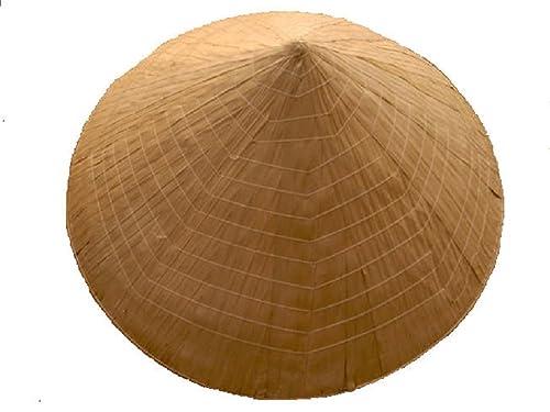 Comercio Justo auténtico vietnamita cónico cultivadores de arroz sombrero / Non La [Ropa]