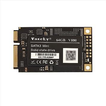 Jiayuane SSD de 64 GB mSATA Disco de Unidad de Estado sólido ...