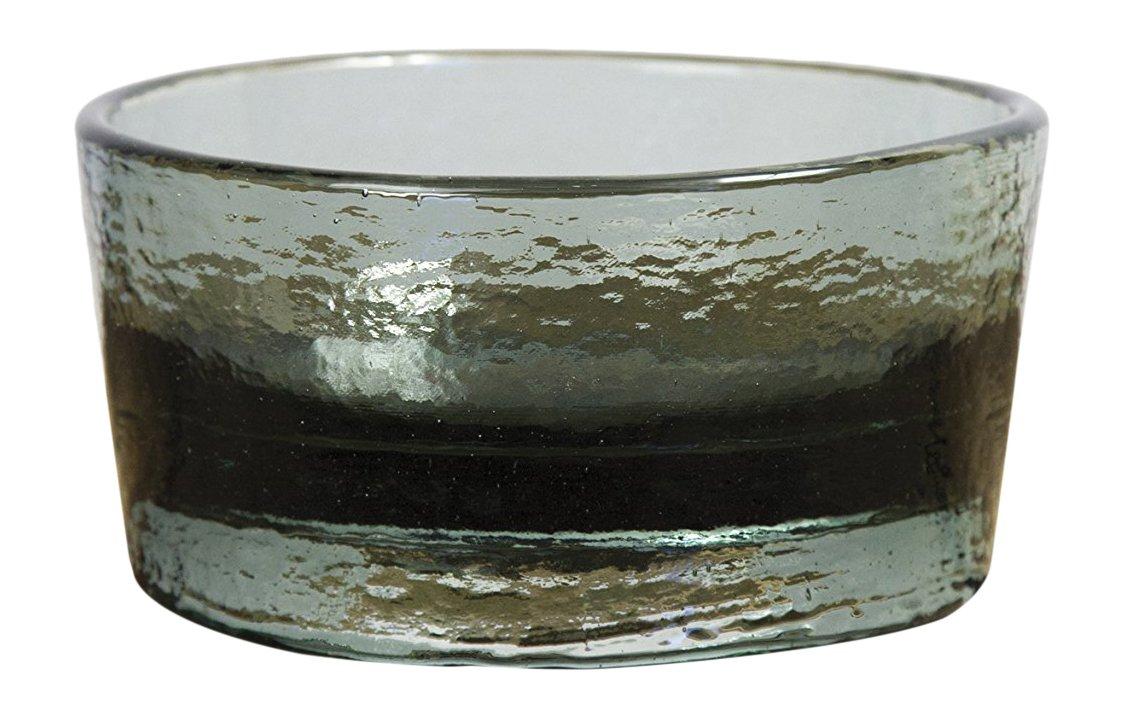 PawNosh Zora Bowl in Twilight, 100% Recycled Glass Pet Food & Water Bowl